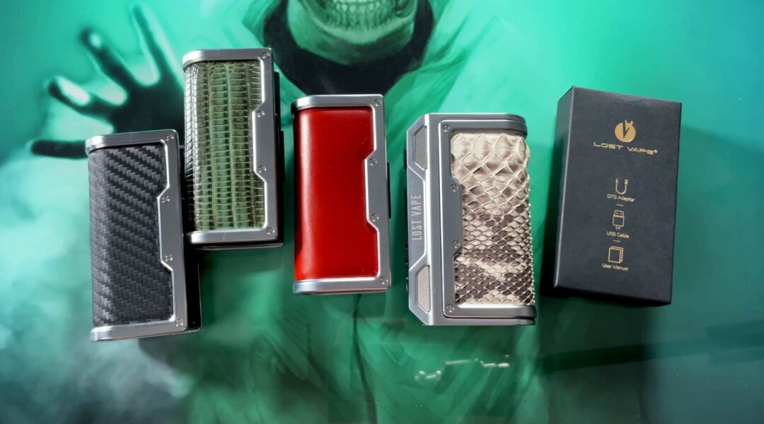 Box Thelema Lost Vape DNA 250C Revue